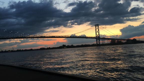 Ambassador Bridge, Windsor, Ontario
